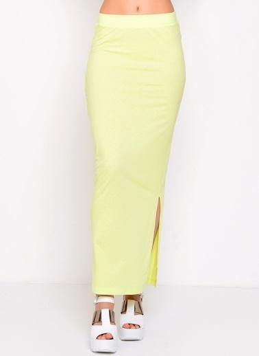 Vero Moda Etek Sarı